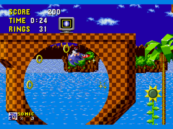 sonic screenshot